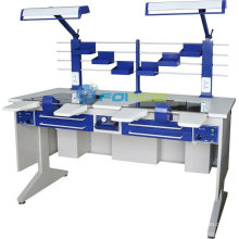 dental lab equipments (Model: Workstation (double) AX-JT6)(CE approved)