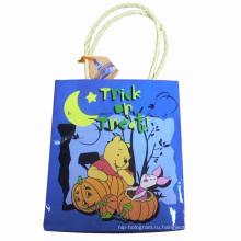 Бумажная сумка для цветной печати