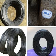 Material de construção Fio preto recoberto