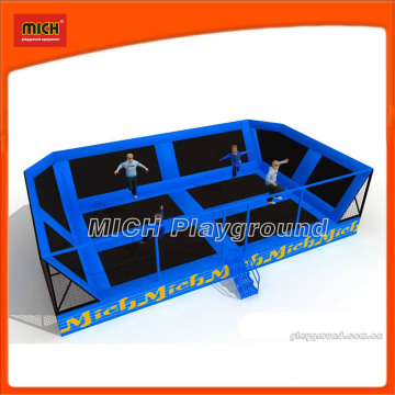 Mich CE Certified Adults Indoor Gymnastics Trampolines