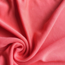 Twisting knitted Viscose fabric Fake silk viscosity jersey