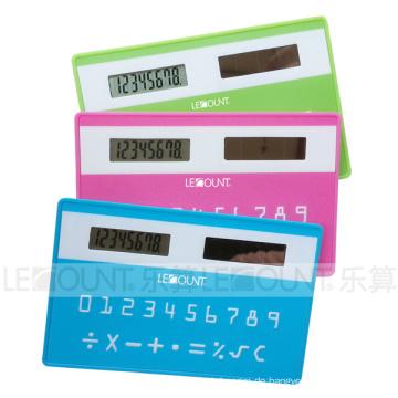 Sonnenenergie-Kreditkarten-Größenrechner (LC523)