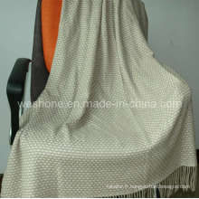 Jet de laine, couverture de laine, jeter (CMT-0901075)