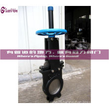 Uni-Directional Knife Gate Valve Pn10 Flange Wafer Type