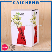 Cardboard paper box packaging custom design paper cosmetic box