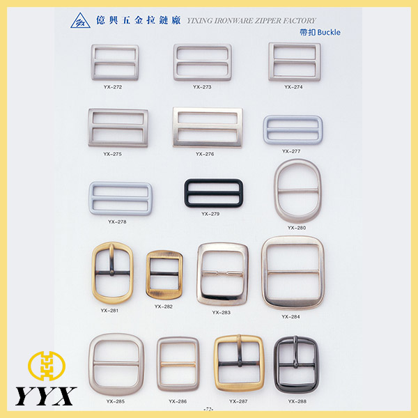 metal bag buckle strap adjust
