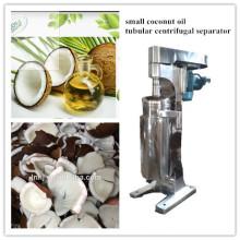 Séparateur de centrifugeuse d'huile de noix de coco de la nouvelle conception 2017 / centrifugeuse tubulaire de bol de 3 phases