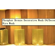 Phosphor Bronze Dekorative Mesh