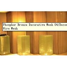 Phosphor Bronze Decorative Mesh