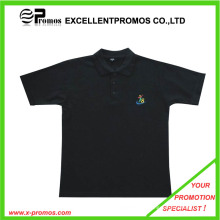 Camiseta promocional favorable del polo de la alta calidad (EP-T9082)