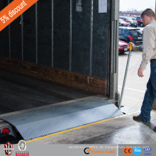 Hersteller Verkauf Gabelstapler Manuelle Rand Dock Leveler mit CE