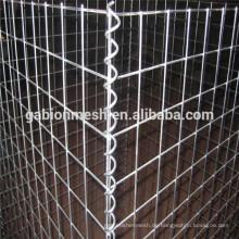 Niedriger Preis gabion Drahtgeflechtkasten / geschweißter Gabionkasten / galvanisierter Gabionkasten alibaba China