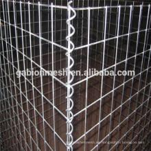 Caja del acoplamiento de alambre del gabion del precio bajo / caja gabion soldada / caja galvanizada del gabion alibaba China