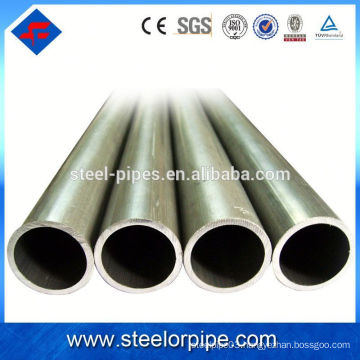 High quality Q235 Q195 grade steel pipe with black surface treatment