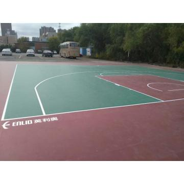 PVC Outdoor Sports Bodenbelag für Basketball