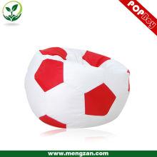 Целая продажа моды милый футбол beanbag / спортивный стиль крытый и из двери мешок фасоли