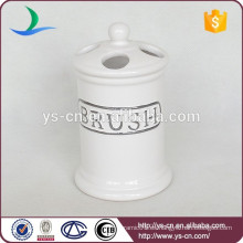 Soporte de cepillo de dientes de agua de cerámica YSb50017-01-th