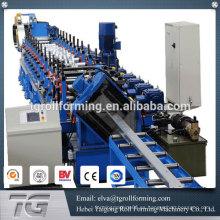 Precio competitivo rodillo de acero purlin que forma la máquina purlin rolling machine