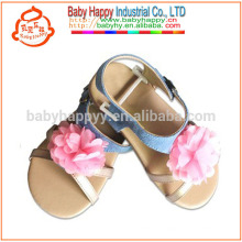 Kids Outdoor toddler shoes pretty girl baby sandal with rubber sole
