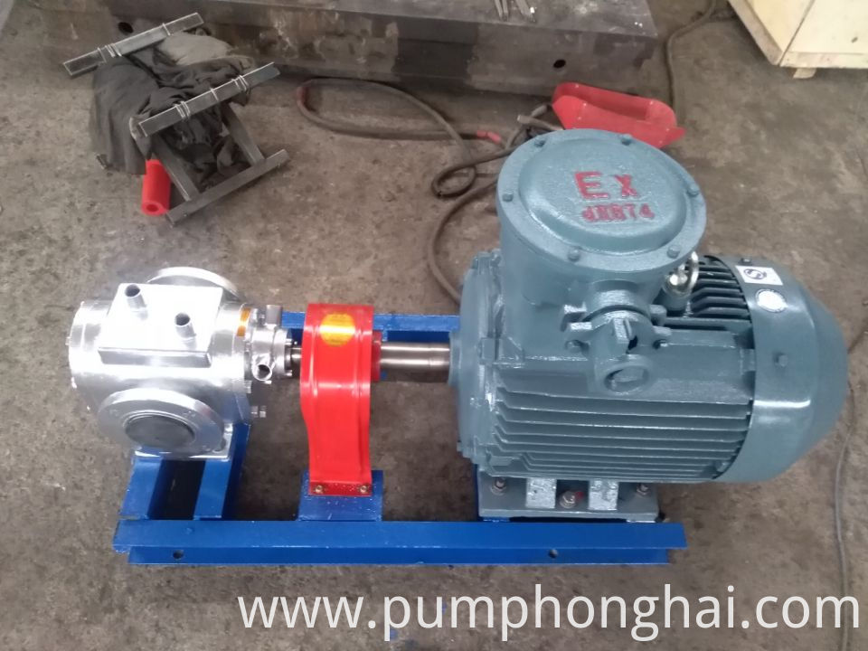 hot cooking oil pump