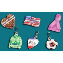 Anstecknadeln & Zipper Pulls, organisches Glas, Acrylprodukt, Plexiglas, Acryl