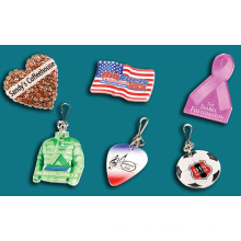 Lapel Pins & Zipper Pulls, organic glass, acrylic product , Plexiglass, acrylic