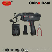 Machine automatique de tir de lien de fil de Rebar actionnée par batterie à vendre