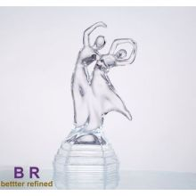 Decorative Crystal Glass Dancer for Home