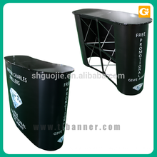Wholesale aluminum promotion table counter