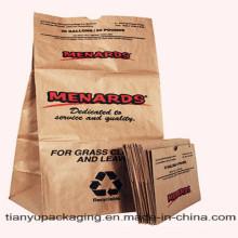 Бумажные пакеты для газонов и листьев