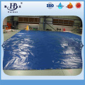 Flame retardant and uv resistant durable pvc fabric