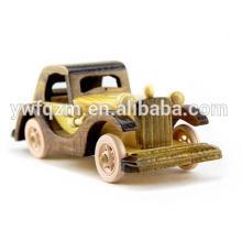 Fábrica que suministra a niños pequeños modelos de madera reales del coche
