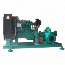 S series horizontal split case centrifugal pump with diesel engine