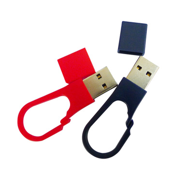 Fancy Key Ring Logo da 2 GB con chiavetta USB