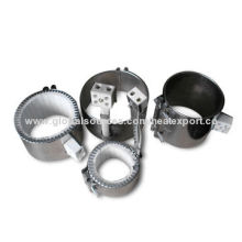 Nozzle mica heater for water dispenser and plastic injection machine