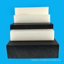 Hoja de Actel Virgen blanca y negra de espesor de 0.5-150 mm
