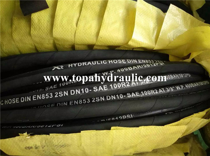 aeroquip hydraulic high temperature 2 inch rubber hose