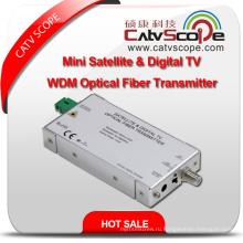 Профессиональный поставщик высокопроизводительных мини-спутник и цифровой L-диапазона TV WDM оптический передатчик волокна