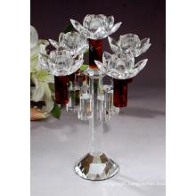 Fashion Crystal Candelabra Wedding Candlestick Decoration Candle Holder