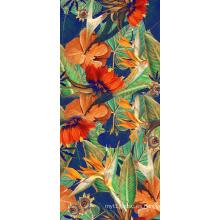 Tela de impresión colorida de alto estiramiento para trajes de baño (ASQ073)