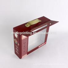 Boîte à jouets en carton sur mesure avec fenêtre