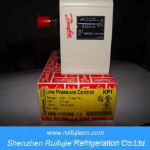 Interruptor de alta / baja presión Danfoss serie Kp con restablecimiento ajustable