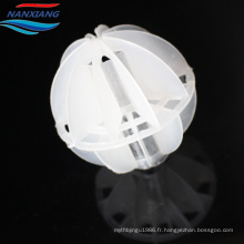 Emballage aléatoire de tour creux polyédrique en plastique