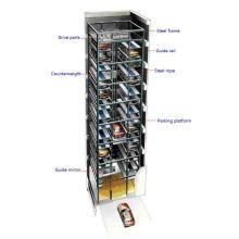 Sistema de aparcamiento de coches de moda PCS tipo torre
