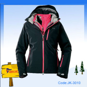 Outdoor Winter Wear Women Fashion Ski Jacket
