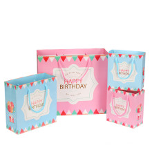 Fiesta de cumpleaños de boda que diseña bolsas de papel de regalo personalizadas
