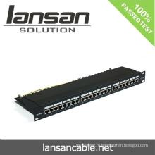 Патч-панель FTP с 24 портами / 48 портами Кабели для подключения к сети