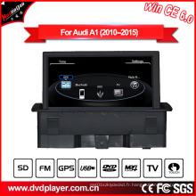 Hualingan Lecteur DVD pour Audi A1 Radio Système de navigation GPS Windows Ce