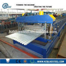 China Manufacture Metal Steel Roof Rolling Machine / Galvanized Corrugated Roofing Sheet Profiling Machine