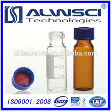 2ML Clear hplc Autosampler glass vial